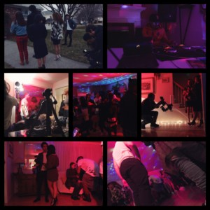 here dance short film house party scene bts pic 1