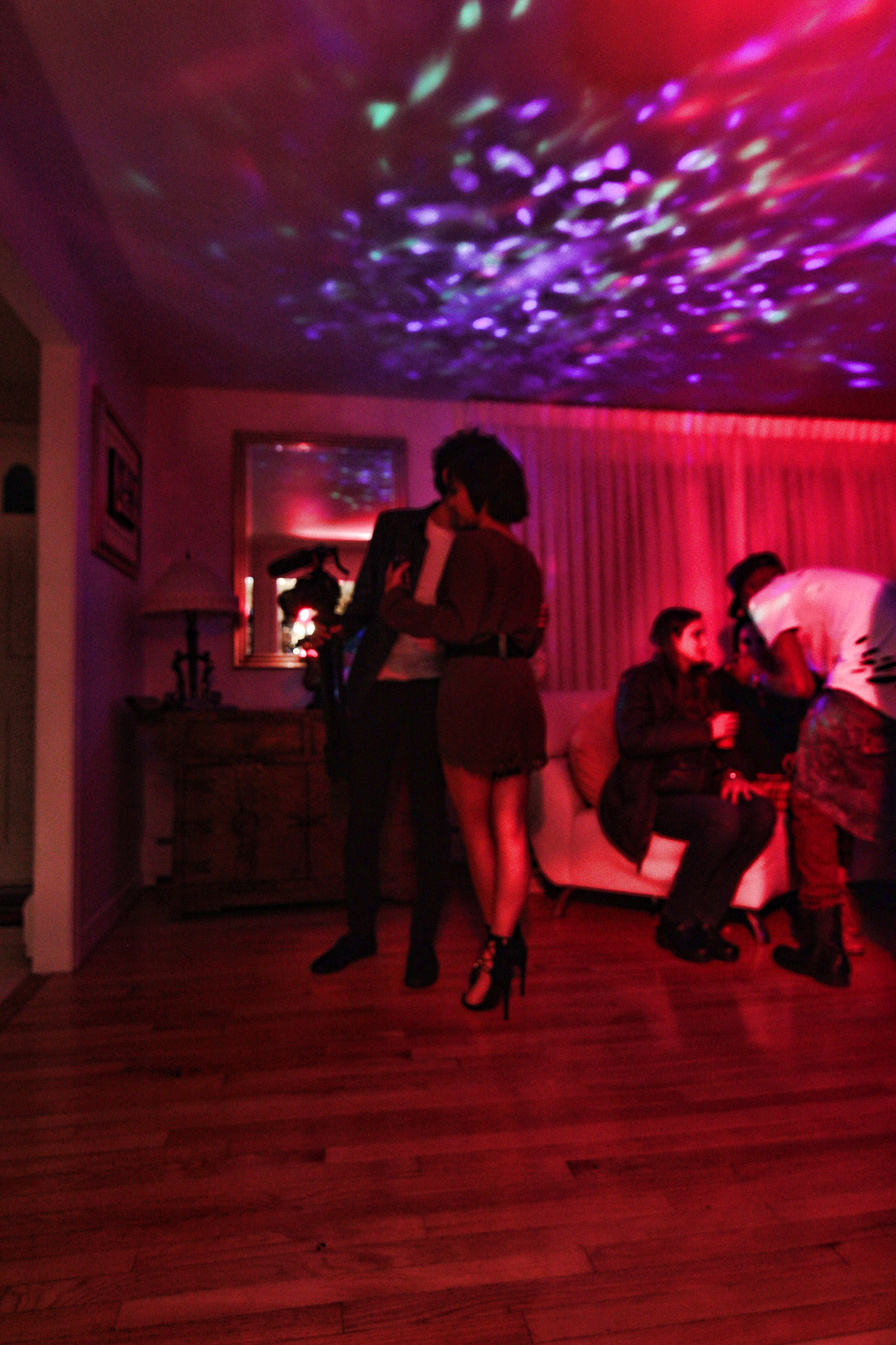 here dance short film house party scene bts pic 7